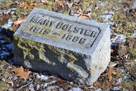BOLSTER, MARY - Branch County, Michigan | MARY BOLSTER - Michigan Gravestone Photos