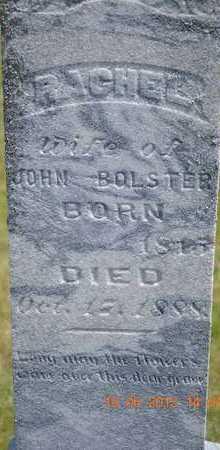BOLSTER, RACHEL - Branch County, Michigan | RACHEL BOLSTER - Michigan Gravestone Photos