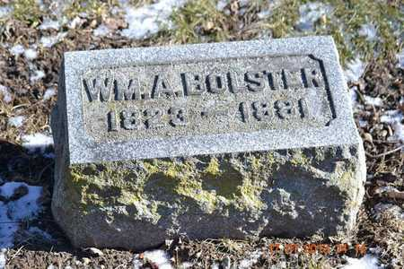 BOLSTER, WILLIAM A. - Branch County, Michigan | WILLIAM A. BOLSTER - Michigan Gravestone Photos