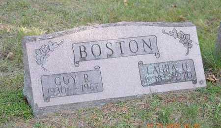 BOSTON, LAURA H. - Branch County, Michigan | LAURA H. BOSTON - Michigan Gravestone Photos