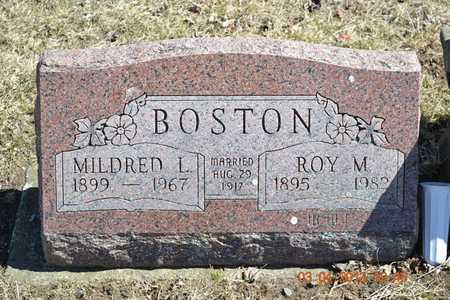 BOSTON, MILDRED L. - Branch County, Michigan | MILDRED L. BOSTON - Michigan Gravestone Photos