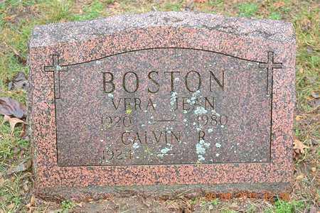 BOSTON, CALVIN R. - Branch County, Michigan | CALVIN R. BOSTON - Michigan Gravestone Photos