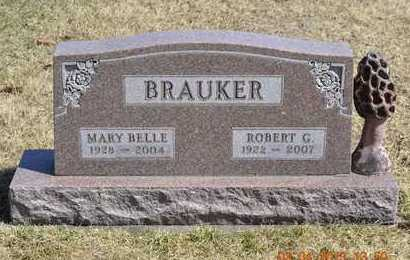 BRAUKER, ROBERT G. - Branch County, Michigan | ROBERT G. BRAUKER - Michigan Gravestone Photos