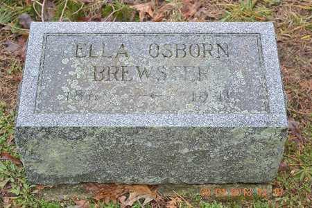 BREWSTER, ELLA - Branch County, Michigan | ELLA BREWSTER - Michigan Gravestone Photos
