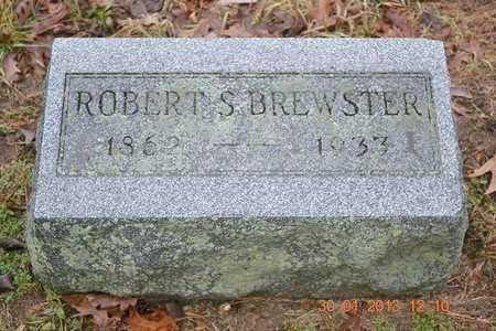 BREWSTER, ROBERT S. - Branch County, Michigan | ROBERT S. BREWSTER - Michigan Gravestone Photos