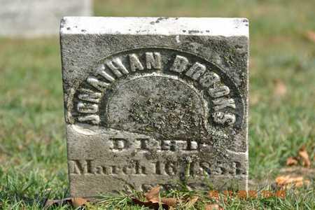 BROOKS, JONATHAN - Branch County, Michigan | JONATHAN BROOKS - Michigan Gravestone Photos