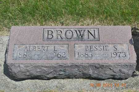 BROWN, ALBERT L. - Branch County, Michigan | ALBERT L. BROWN - Michigan Gravestone Photos