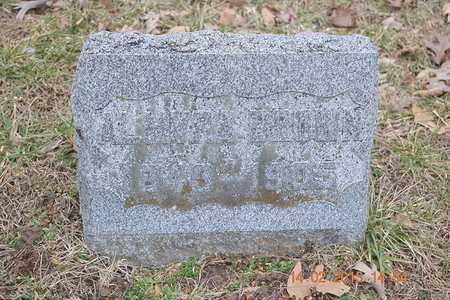 BROWN, ALMYRA - Branch County, Michigan | ALMYRA BROWN - Michigan Gravestone Photos