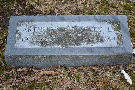 BROWN, ARTHUR E. - Branch County, Michigan   ARTHUR E. BROWN - Michigan Gravestone Photos