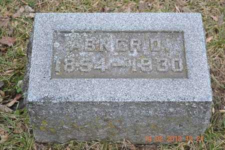 BROWN, ABNER D. - Branch County, Michigan | ABNER D. BROWN - Michigan Gravestone Photos