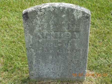 BROWN, ALMIRA - Branch County, Michigan | ALMIRA BROWN - Michigan Gravestone Photos