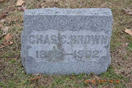 BROWN, CHARLES C. - Branch County, Michigan   CHARLES C. BROWN - Michigan Gravestone Photos
