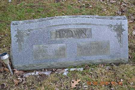BROWN, CECELIA M. - Branch County, Michigan | CECELIA M. BROWN - Michigan Gravestone Photos