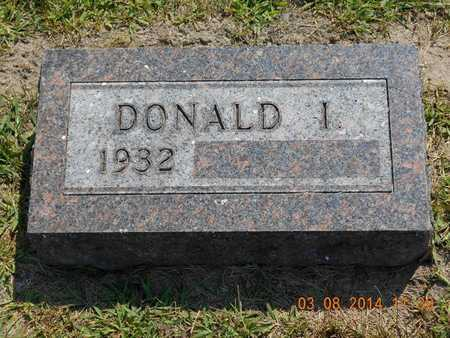 BROWN, DONALD I. - Branch County, Michigan | DONALD I. BROWN - Michigan Gravestone Photos
