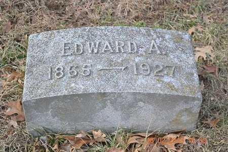 BROWN, EDWARD A. - Branch County, Michigan   EDWARD A. BROWN - Michigan Gravestone Photos
