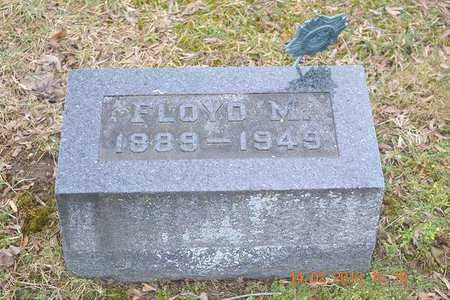 BROWN, FLOYD M. - Branch County, Michigan | FLOYD M. BROWN - Michigan Gravestone Photos