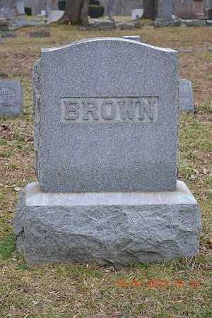 BROWN, FAMILY - Branch County, Michigan | FAMILY BROWN - Michigan Gravestone Photos