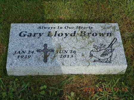 BROWN, GARY L. - Branch County, Michigan   GARY L. BROWN - Michigan Gravestone Photos