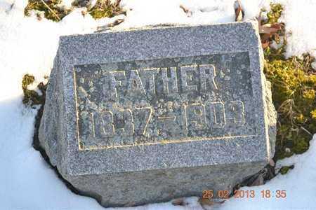 BROWN, HOMER H. - Branch County, Michigan | HOMER H. BROWN - Michigan Gravestone Photos