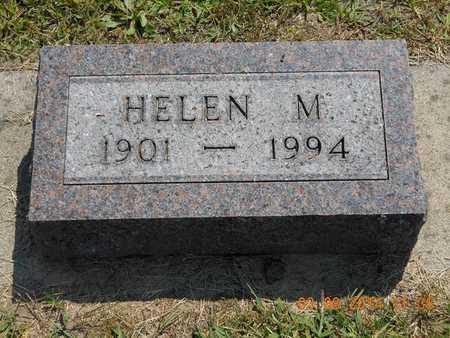 BROWN, HELEN M. - Branch County, Michigan | HELEN M. BROWN - Michigan Gravestone Photos