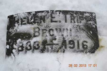 BROWN, HELEN E. - Branch County, Michigan | HELEN E. BROWN - Michigan Gravestone Photos