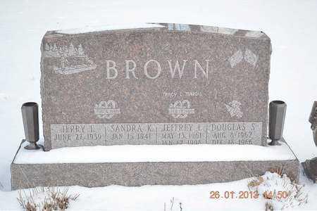 BROWN, SANDRA K. - Branch County, Michigan | SANDRA K. BROWN - Michigan Gravestone Photos