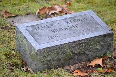 """BROWN, JAMES C. """"BROWNIE"""" - Branch County, Michigan 