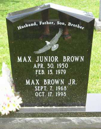 BROWN, MAX JUNIOR - Branch County, Michigan | MAX JUNIOR BROWN - Michigan Gravestone Photos
