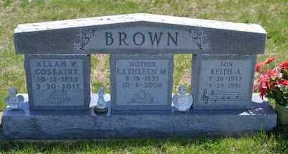 BROWN, KEITH A. - Branch County, Michigan | KEITH A. BROWN - Michigan Gravestone Photos