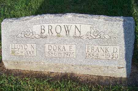 BROWN, DORA - Branch County, Michigan | DORA BROWN - Michigan Gravestone Photos