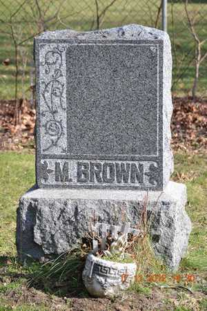 BROWN, MILO - Branch County, Michigan | MILO BROWN - Michigan Gravestone Photos