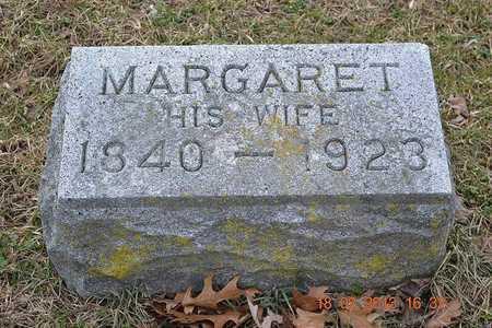 BROWN, MARGARET - Branch County, Michigan   MARGARET BROWN - Michigan Gravestone Photos