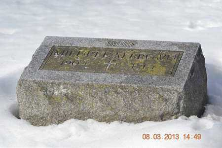 BROWN, MILDRED M. - Branch County, Michigan   MILDRED M. BROWN - Michigan Gravestone Photos