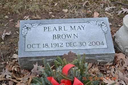 BROWN, PEARL MAY - Branch County, Michigan   PEARL MAY BROWN - Michigan Gravestone Photos