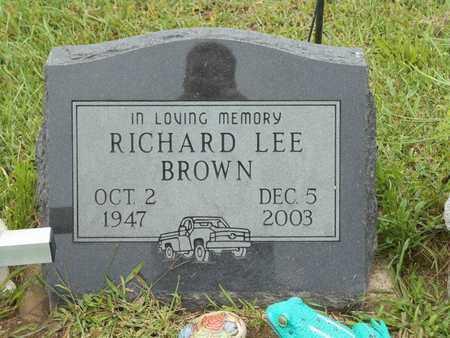 BROWN, RICHARD LEE - Branch County, Michigan | RICHARD LEE BROWN - Michigan Gravestone Photos