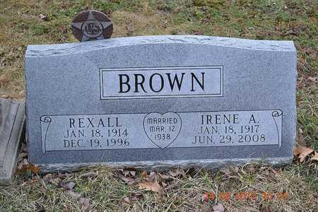 BROWN, IRENE A. - Branch County, Michigan | IRENE A. BROWN - Michigan Gravestone Photos