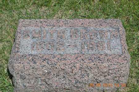 BROWN, SMITH - Branch County, Michigan | SMITH BROWN - Michigan Gravestone Photos
