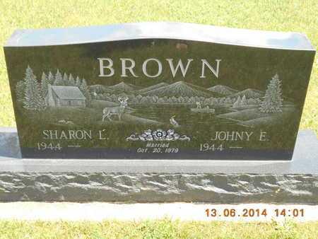 BROWN, SHARON L. - Branch County, Michigan | SHARON L. BROWN - Michigan Gravestone Photos
