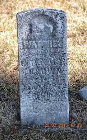 BROWN, W. - Branch County, Michigan | W. BROWN - Michigan Gravestone Photos