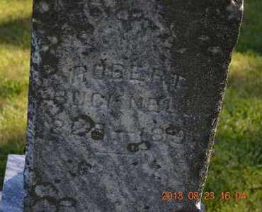 BUCKNELL(CLOSEUP), ROBERT - Branch County, Michigan | ROBERT BUCKNELL(CLOSEUP) - Michigan Gravestone Photos