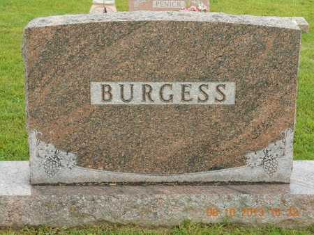 BURGESS, FAMILY - Branch County, Michigan | FAMILY BURGESS - Michigan Gravestone Photos