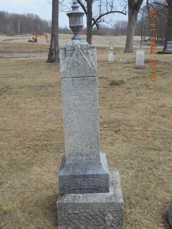 BURGESS, FAMILY - Branch County, Michigan   FAMILY BURGESS - Michigan Gravestone Photos