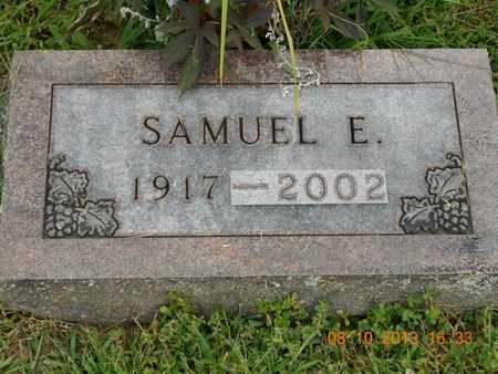 BURGESS, SAMUEL E. - Branch County, Michigan | SAMUEL E. BURGESS - Michigan Gravestone Photos