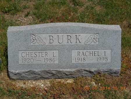 BURK, CHESTER L. - Branch County, Michigan | CHESTER L. BURK - Michigan Gravestone Photos