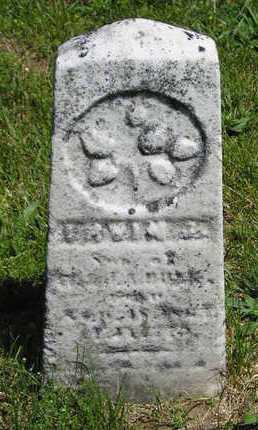 BURK, IRVIN A. - Branch County, Michigan | IRVIN A. BURK - Michigan Gravestone Photos