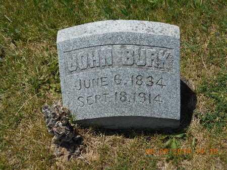 BURK, JOHN - Branch County, Michigan | JOHN BURK - Michigan Gravestone Photos
