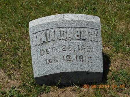 BURK, MALINDA - Branch County, Michigan | MALINDA BURK - Michigan Gravestone Photos