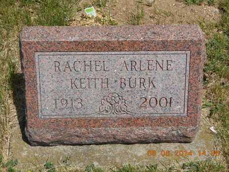BURK, RACHEL ARLENE - Branch County, Michigan | RACHEL ARLENE BURK - Michigan Gravestone Photos