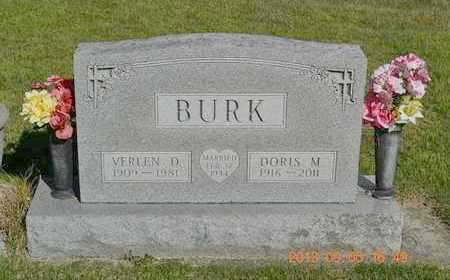 BURK, DORIS M. - Branch County, Michigan | DORIS M. BURK - Michigan Gravestone Photos