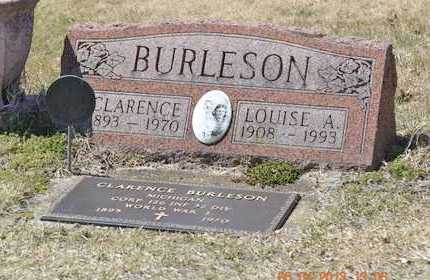 BURLESON, CLARENCE - Branch County, Michigan | CLARENCE BURLESON - Michigan Gravestone Photos